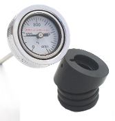 "99-05 Dyna ""Air Filled""Temp Gauge , 1.5OD"